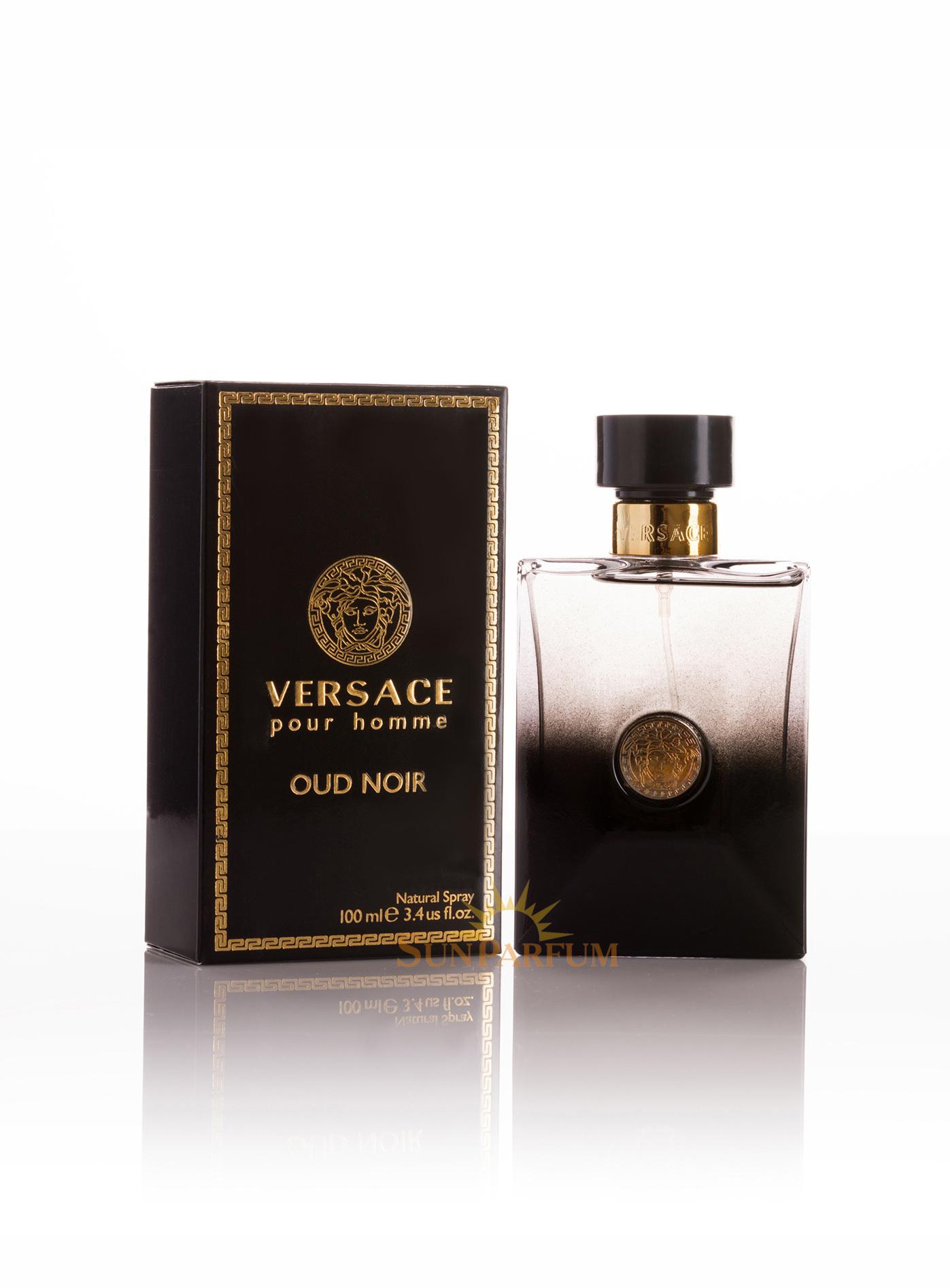 мужские духи Versace Oud Noir Pour Homme 100 мл цена отзывы
